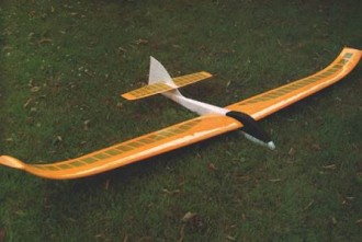 Windhover model airplane plan