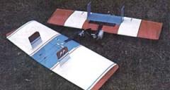 Winger model airplane plan