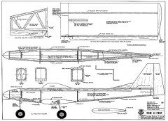 X-Pert model airplane plan