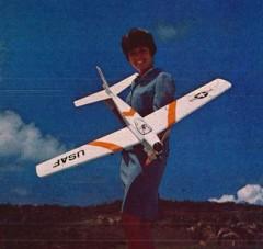 XF-226 model airplane plan