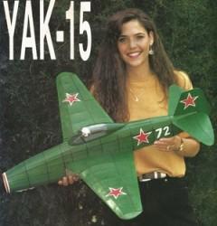 Yak 15 model airplane plan
