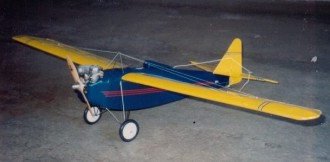 Yankee Mike model airplane plan