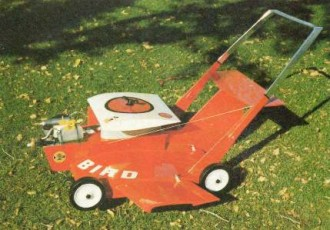 Yard Bird (lawnmower) model airplane plan