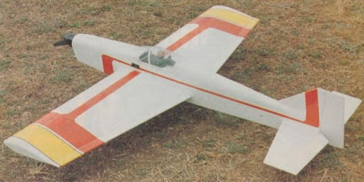Zenith 40 model airplane plan