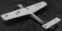 Zip RC model airplane plan