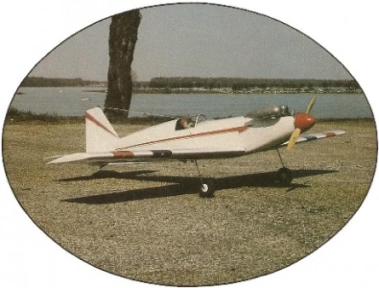 Adrenalin Plus model airplane plan