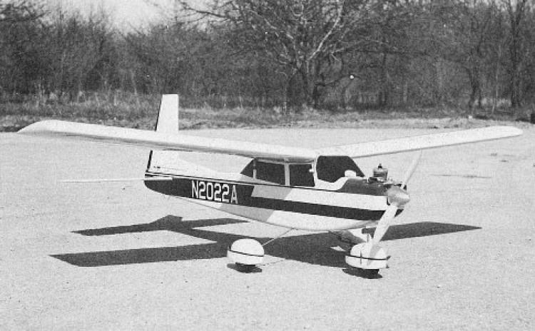 Aero Commander 100 model airplane plan
