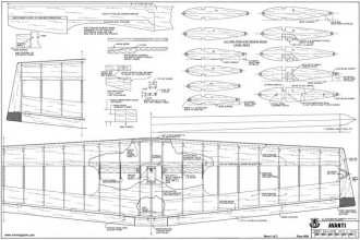 Avanti model airplane plan