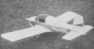 BD-1 model airplane plan