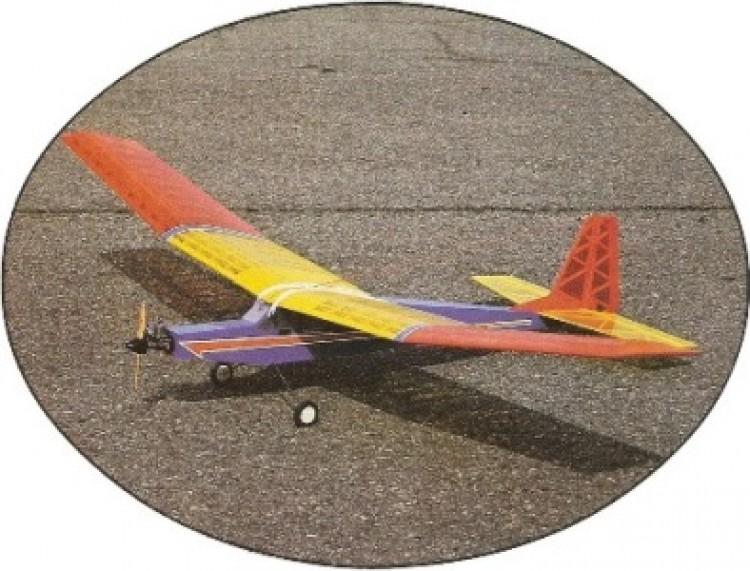 RCM Big Bird model airplane plan