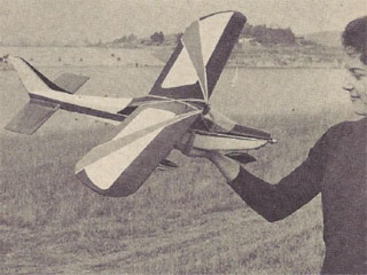 Cessna Cardinal model airplane plan
