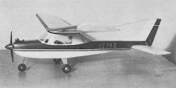 Cessna 150 model airplane plan