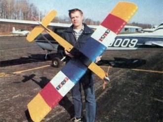 Corkscrew 80 model airplane plan