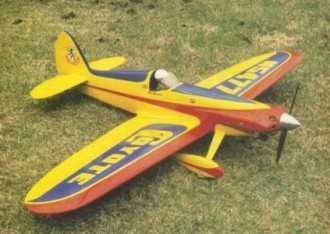 Cosmic Coyote model airplane plan
