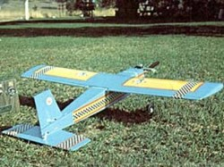 Country Squire model airplane plan