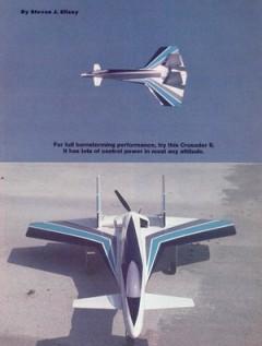 Crusader II model airplane plan