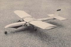 Double Feature model airplane plan