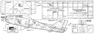DQA model airplane plan