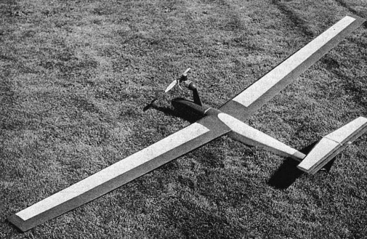 Duo-Flex model airplane plan