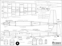 El Gringito model airplane plan
