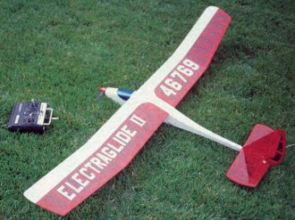 Electraglide II model airplane plan