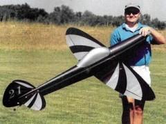 Ellipse model airplane plan