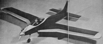 F-9 model airplane plan