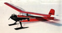 Firebird model airplane plan