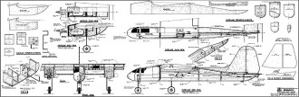 Gemini RCM model airplane plan