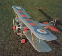Gloster Gamecock model airplane plan
