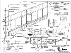 Goose model airplane plan