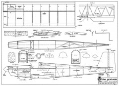 Graduate model airplane plan