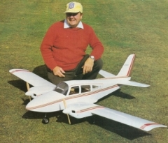 Grumman American Cougar model airplane plan
