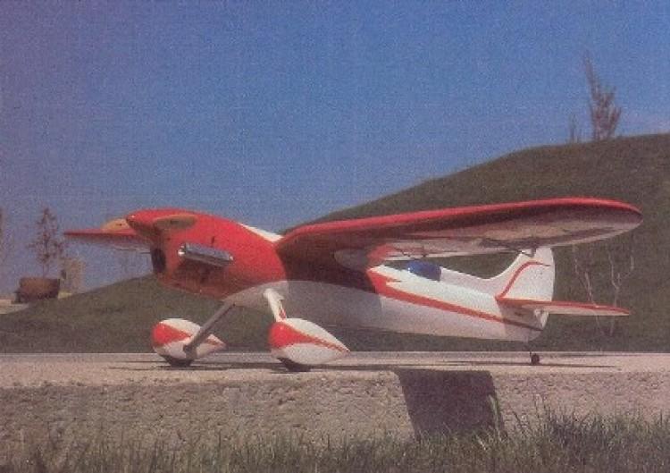 Gull Wing model airplane plan