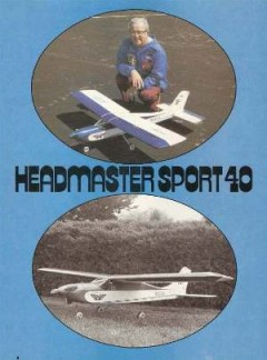 Headmaster Sport 40 model airplane plan