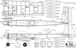 Kaos 60 model airplane plan