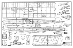 Kwik-Fli model airplane plan