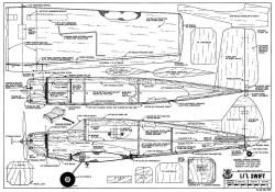 Lil Swift model airplane plan