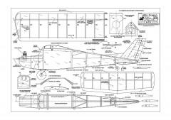 Little Dragon RC model airplane plan