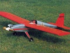 Long John model airplane plan