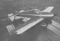 Long Midget model airplane plan