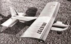 Mark I model airplane plan