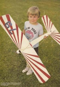 Mini Jacket model airplane plan
