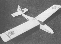Mini Sailer model airplane plan
