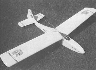 Mini Sailer model airplane plan