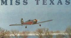 Miss Texas model airplane plan