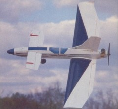 Mockingbird model airplane plan