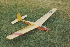 No Tow model airplane plan