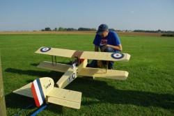 Grand Baron Biplan1800 model airplane plan