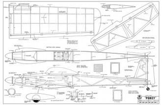 Pokey model airplane plan